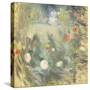Nanny at the End of the Garden; Nourrice Au Fond D'Un Jardin, 1880 by Berthe Morisot