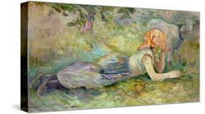Shepherdess Resting, 1891 by Berthe Morisot