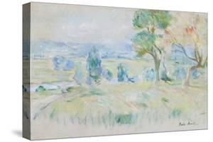 The Seine Valley at Mézy, 1891 by Berthe Morisot