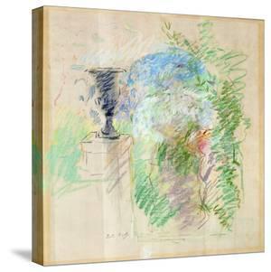 Vase in a Garden, 1890 by Berthe Morisot
