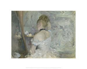 Woman at Her Toilette, 1875/80 by Berthe Morisot