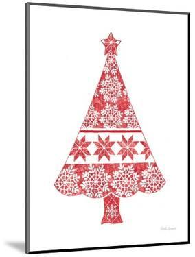Nordic Holiday Christmas Tree by Beth Grove