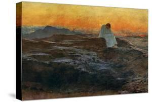 Christ in the Wilderness, 1898 by Briton Riviere