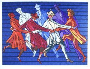The Horah Dance by Chaim Goldberg
