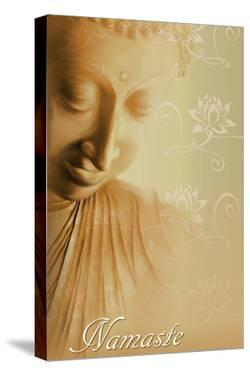 Buddha Namaste by Christine Ganz