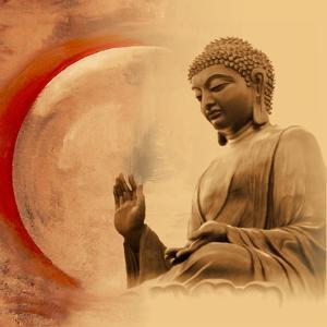 Buddha -Protection by Christine Ganz