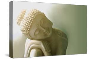 Resting Buddha I by Christine Ganz