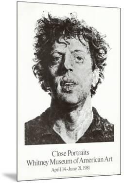 Large Phil Fingerprint, 1979 by Chuck Close