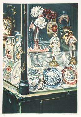 Antique Shop by Clarence Holbrook Carter