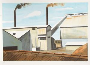 Factory by Clarence Holbrook Carter