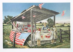 Outside the Limits (Fireworks Stand) by Clarence Holbrook Carter
