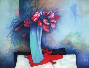 Roses et Cerises by Claude Gaveau