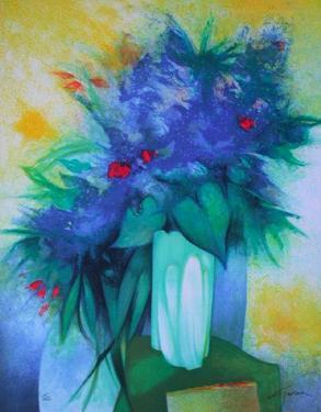 S - Bouquet Bleu by Claude Gaveau