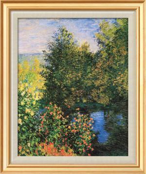 Corner of the Garden at Montgeron by Claude Monet
