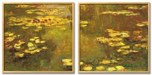 Pond of Waterlilies, 1919 by Claude Monet