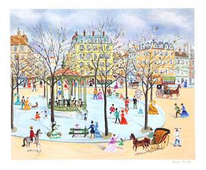 Promenade at the Square by Claude Tabet