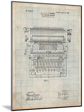 Underwood Typewriter Patent by Cole Borders
