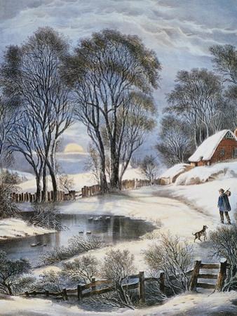 Currier & Ives: Winter MoonlightCurrier & Ives