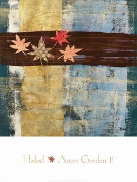 Asian Garden II by Danielle Hafod