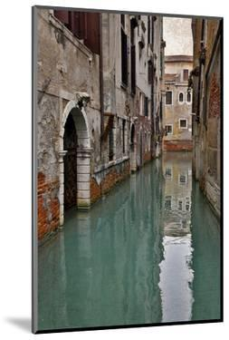 Canal and Doorways Venice, Italy by Darrell Gulin