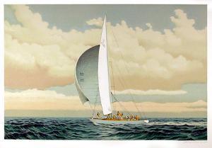 Sailboat by David Lockhart