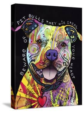 Beware of Pit Bulls by Dean Russo