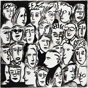 Faces in Black and White by Diana Ong