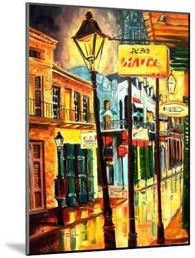 Lamp Post On Bourbon Street by Diane Millsap