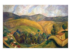 English Landscape by Diego Rivera