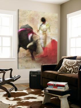 San Miguel, Bullfight #2 by Doug Landreth