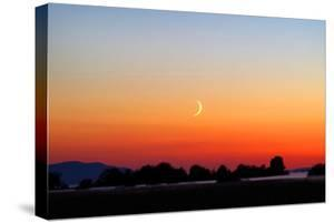 Crescent at Sunset by Douglas Taylor