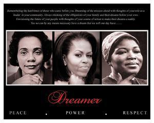 Dreamer (Trio): Peace, Power, Respect