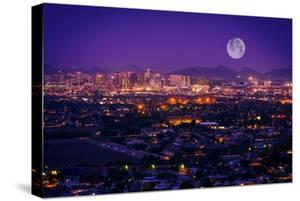 Phoenix Arizona Skyline by duallogic