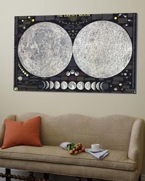 Earths Moon Map 1969