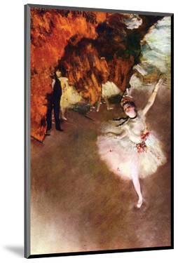 Prima Ballerina by Edgar Degas