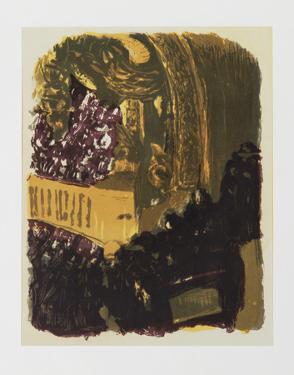 Une Gallerie au Gymnase by Edouard Vuillard