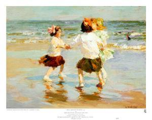 Ring Around the Rosy by Edward Henry Potthast