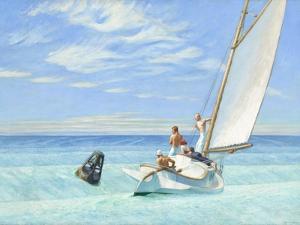 Ground Swell, 1939 by Edward Hopper