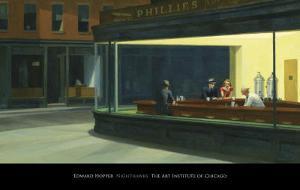 Nighthawks, c.1942 by Edward Hopper