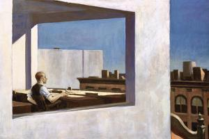 Office in a Small City, 1954 by Edward Hopper