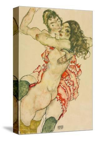 Two Women EmbracingEgon Schiele