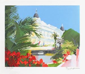 Le Carlton a Cannes by Emile Bellet