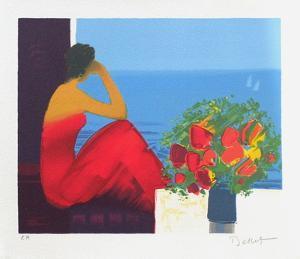 Repos devant la mer by Emile Bellet
