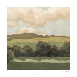 Ochre Evening I by Emma Scarvey