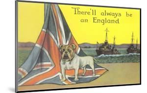 English Bulldog on Union Jack