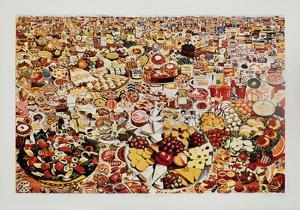 Foodscape by Erró (Gudmundur Gudmundsson)