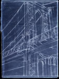 Manhattan bridge posters and prints at art bridge blueprint iethan harper art print malvernweather Choice Image