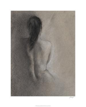 Chiaroscuro Figure Drawing II by Ethan Harper