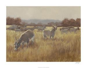 Grazing Goats II by Ethan Harper