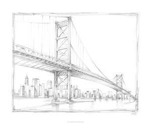 Suspension Bridge Study III by Ethan Harper